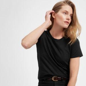 Everlane | Solid Black 100% Cotton T-Shirt